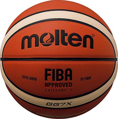 Molten BGG - Pallone da basket, marrone, misura: 7