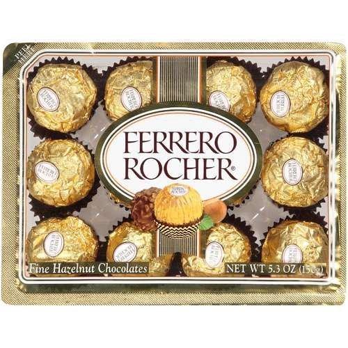 Fishlander > Boating > Ferrero Rocher Fine Hazelnut Chocolate 5.3oz