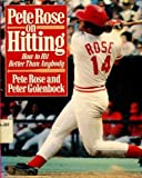 img - for Pete Rose on Hitting book / textbook / text book