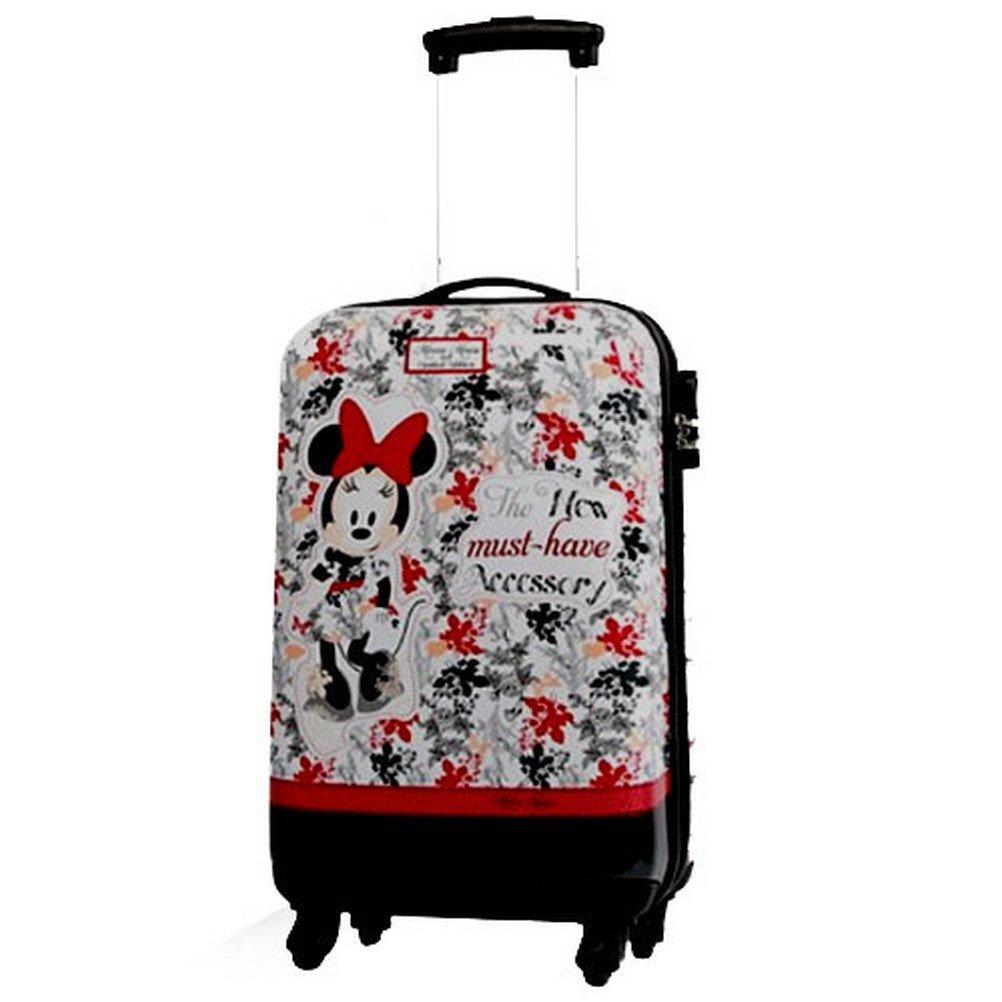 Joumma Bags Trolley, ABS, 55cm, Hartschale, 4 Rollen, Minnie mit Springseil, limitierte Edition online bestellen