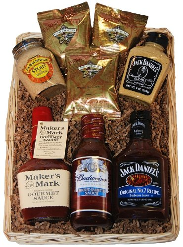 'Hit the Sauce' Gourmet Gift Basket for Thrilling