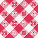 Classic Series Vinyl Tablecloth Check, Red/White 54-Inch x 15 Yard Roll