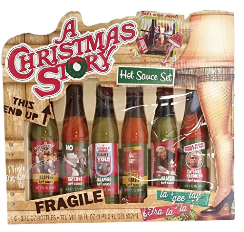 Gift set a christmas story hot sauce food beverages