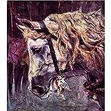 Art Panel - Head Of A Horse By Giovanni Boldini