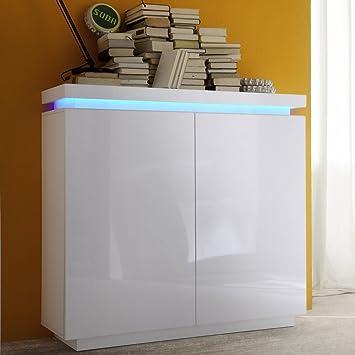 Wandschrank Hängeschrank Badschrank Küchenschrank Badzimmerschrank Weiß 55cm GB