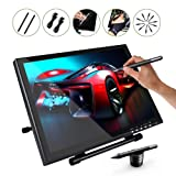 Ugee 1910B Graphics Drawing Monitor Digital Pen Display 19 Inches with 2 Rechargeable Pens, 1 Drawing Glove, 1 LCD Screen Protector (Color: Black, Tamaño: Ugee 1910)