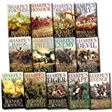 Bernard Cornwell Bernard Cornwell Sharpe's War Battle 13 Books Set Collection (Honour, Revenge, Company, Enemy, Devil, Tiger, Triumph, Fortress, Trafalgar, Prey, Havoc, Escape, Fury)