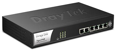 Draytek - Vigor 2960 - Routeur - commutateur 4 ports - GigE - Montable sur rack