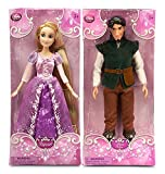 Disney(ディズニー) ディズニーストア 塔の上のラプンツェル ラプンツェル フリンライダー 2点セット クラシックドール 人形 約30cm Rapunzel/Flynn Rider Classic Doll - 12''  【並行輸入品
