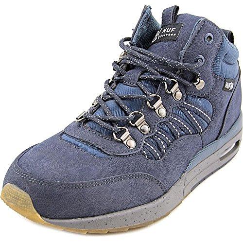 HUF Men's HR-1 Boot Inspired Runner, Dark Navy/Charcoal Grey, 10.5 M US