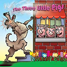 The Three Little Pigs Audiobook by Joseph Jacobs Narrated by David DuChene