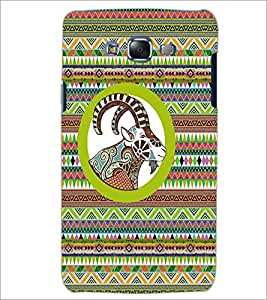 PrintDhaba Zodiac Aries D-5797 Back Case Cover for SAMSUNG GALAXY J5 (Multi-Coloured)