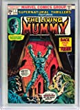 img - for Supernatural Thriller #7 (The Living Mummy) book / textbook / text book