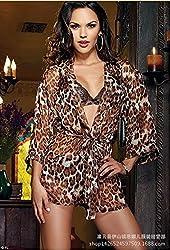 Evana Leopard Print Nightwear Sleepwear Nighty