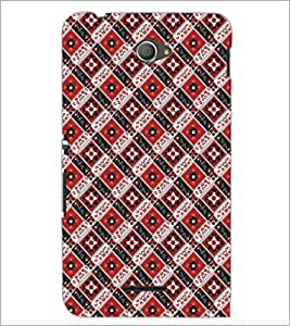 PrintDhaba Pattern D-5474 Back Case Cover for SONY XPERIA E4 (Multi-Coloured)