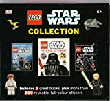 STAR WARS - Mini Collection (Heroes Ultimate sticker book, The Visual Dictionary, Villains Ultimate sticker book) in carry case. RRP £19.97