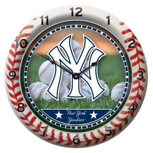 MLB New York Yankees Game Time Clock