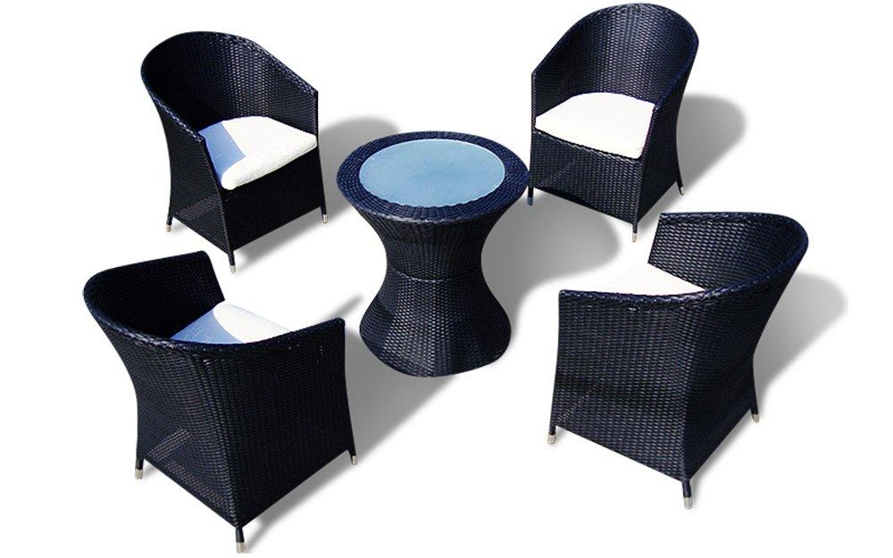 Rattanmöbel Sitzgruppe LISSABON   Hotel 1 Qualität (Braun)