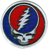 Grateful Dead - Steal Your Face - Embroidered Iron on Patch