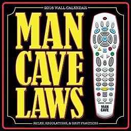 Man Cave - 2016 Calendar 12 x 12in