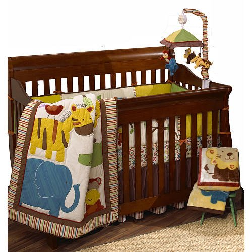 Cocalo Jungle Jingle Six Piece Crib Set