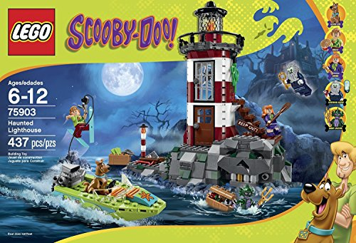 Scooby-Doo! LEGO 437 PCS Haunted Lighthouse Brick Box Building Toys