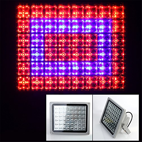 Lvjing® 2014 New Designed High Power 48Led Led Flood Grow Light 100W Red + Blue For Indoor Flowering Plants And Hydroponics System