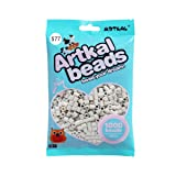Artkal Midi Beads Gray Scale Color 1000 Count Pixel Fuse Beads DIY Educational Toys (S77) (Color: S77)