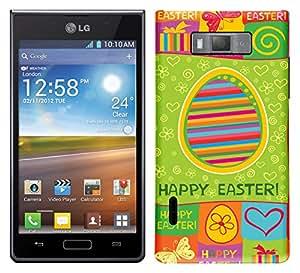 WOW Printed Designer Mobile Case Back Cover For LG Optimus L7 P705