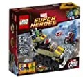 LEGO Superheroes 76017 Captain America vs. Hydra from LEGO Superheroes