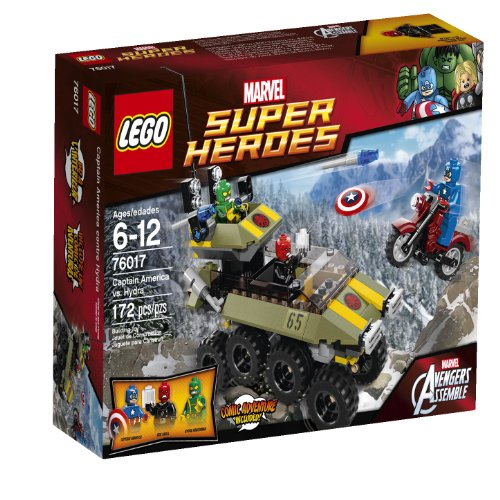 Lego Superheroes 76017 Captain America Vs. Hydra
