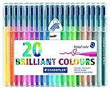 Staedtler 323 SB20 Fasermaler triplus color