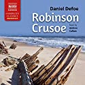 Robinson Crusoe Audiobook by Daniel Defoe Narrated by Andrew Cullum