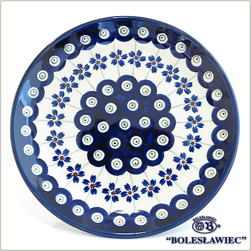 [Boleslawiec/ボレスワヴィエツ陶器]プレート16cm(平皿)-166(ポーリッシュポタリー)
