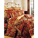 Sherry Kline China Art Red 6 Piece Queen Comforter Set