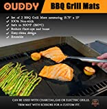 Ouddy BBQ Grill Mat (Set of 2)