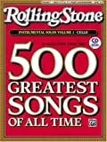 Selections from Rolling Stone Magazine's 500 Greatest Songs of All Time: Instrumental Solos for Strings: Cello