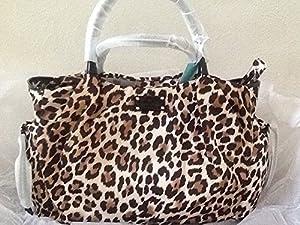 Kate Spade York Copa Cabana Leopard Stevie Baby Bag