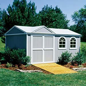 Premier Gable Somerset Flexi Door Storage Shed (10 ft. x 14 ft. w Floor)