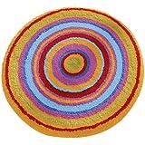 Meusch 2253148307 Badteppich Mandala, 60 cm rund, multicolor