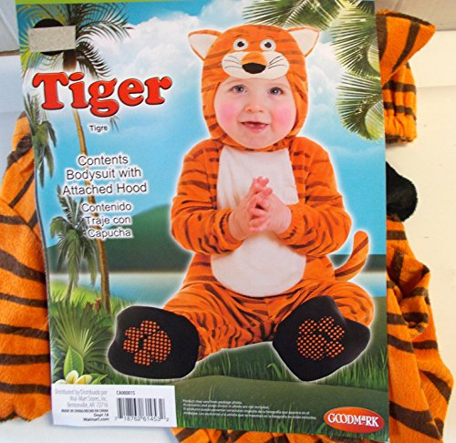 Tiger Infant Child Costume 0-6M NIP