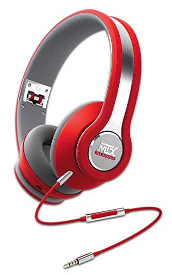 MTX iX1 Casque audio Rouge
