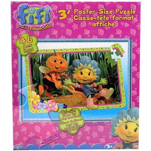 Picture of Fifi and the Flowertots Fifi and the Flowertots 46-Piece 3-Foot Poster Size Puzzle (B001N7PJPA) (Floor Puzzles)
