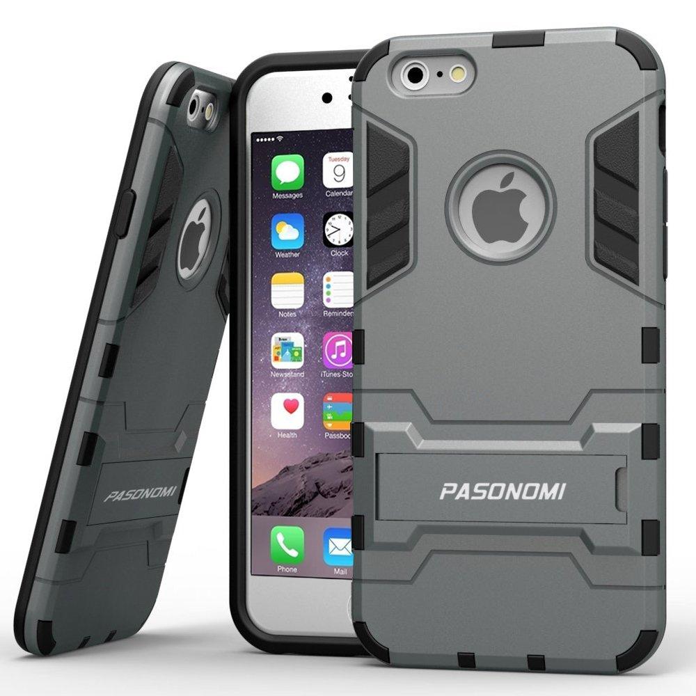 Iphone 6 Plus Case Pasonomi [Heavy Duty] [Shock-Absorption] [Kickstand Featur.. 8