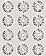 12 Guitar rice paper fairy / cup cake 40mm toppers pre cut decoration