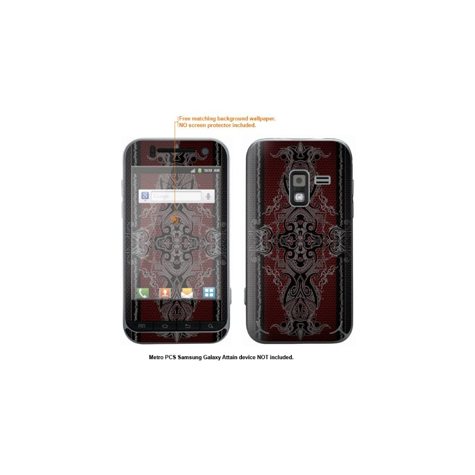 Protective Decal Skin Sticker for Metro PCS Samsung Galaxy Attain 4G case cover Attain 26