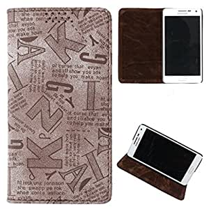 DooDa PU Leather Flip Case Cover For Micromax Bolt A068