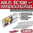 ABUS EC550 Zylinder 28/34 mm inkl 5 Schl�ssel