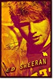 Ed Sheeran Art Print 3 (With Signed Autograph Reproduction) Glossy Photo Poster Gift 30x20cm