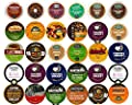 30-count DECAF COFFEE Single Serve Cups For Keurig K Cup Brewers Variety Pack Sampler by Crazy Cups